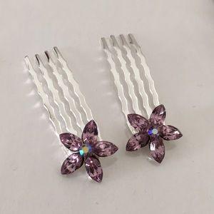 Lavender Hairpin (10-Pairs)